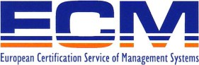 ECM european certification service of management systems logo